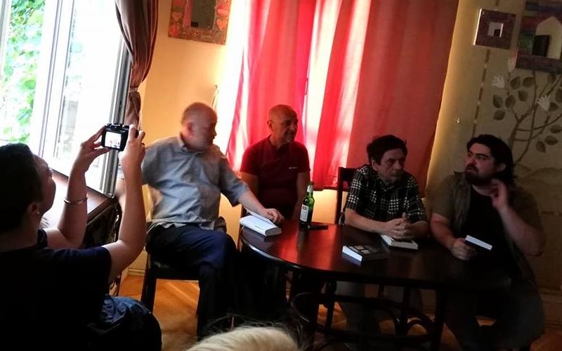 lansare Radu Aldulescu, Stelian Tanase, Octavian Soviany, Andrei Ruse