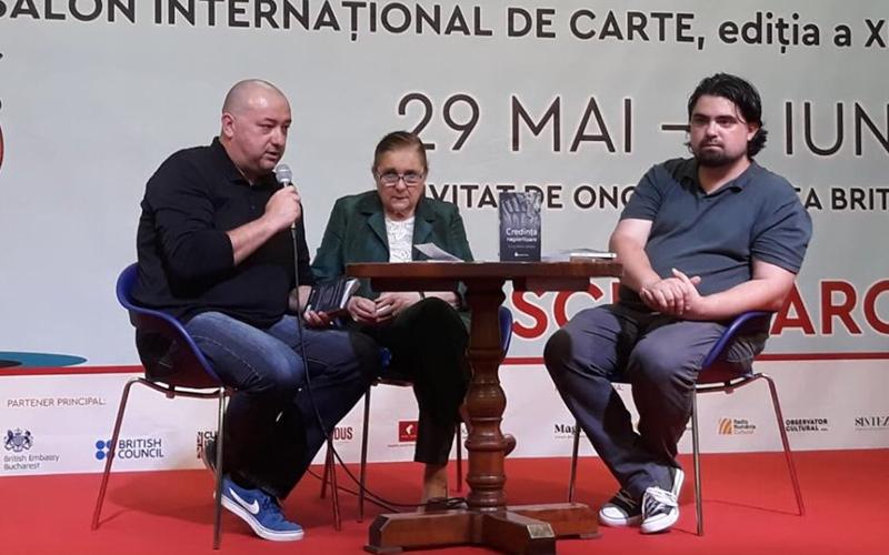 Lucia Hossu Longin, Teodor Hossu Longin, Andrei Ruse, Bookfest 2019, Credinta nepieritoare, Memorialul Durerii, Hyperliteratura