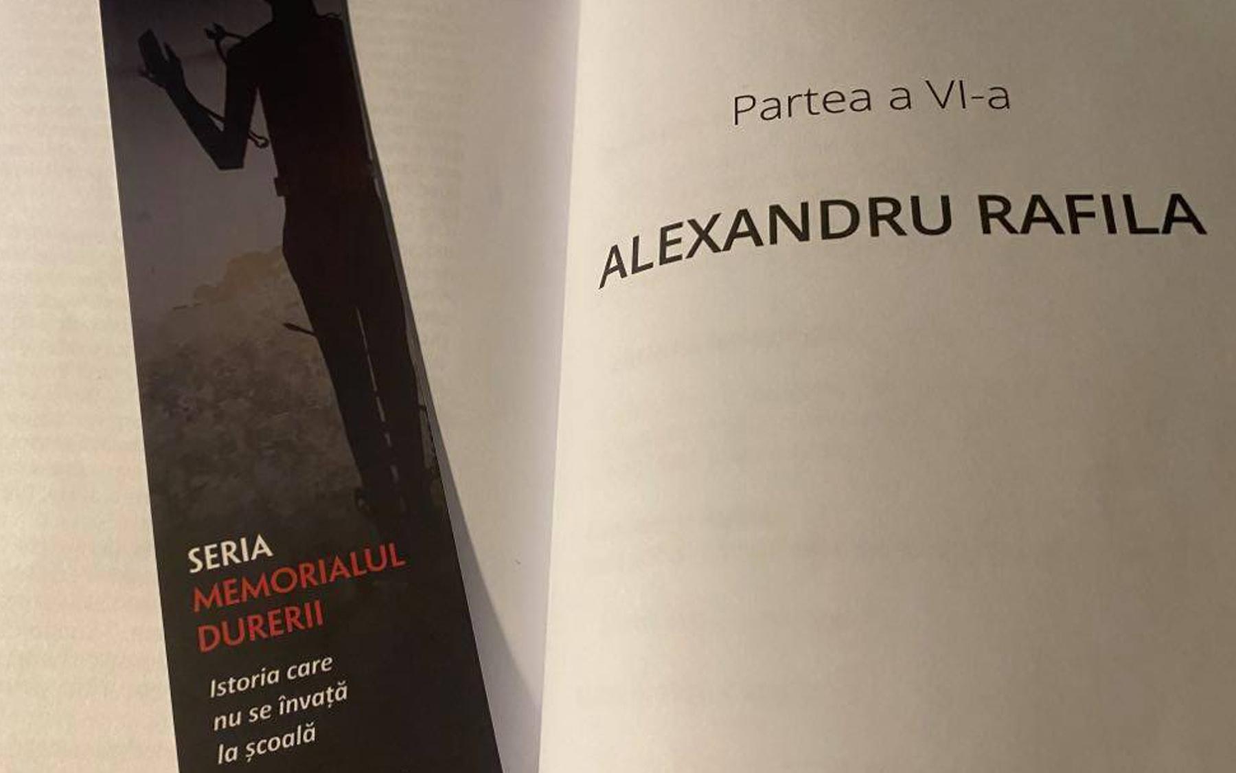 Alexandru Rafila Memorialul Durerii Lucia Hossu Longin Hyperliteratura